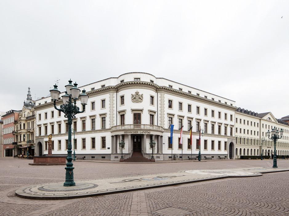 Hessischer Landtag, Stadtschloss Wiesbaden.